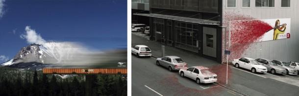 特别是立在道路边上的大型广告牌,过往坐在车上的人没仔细看,一瞬间图片