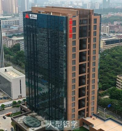 东莞环宇生物科技办公楼楼体发光字广告牌项目
